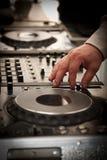 DJ play music Royalty Free Stock Image