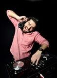 DJ playing music Royalty Free Stock Images