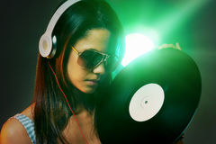 DJ portrait Stock Images
