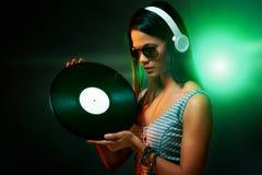 DJ portrait Stock Photo