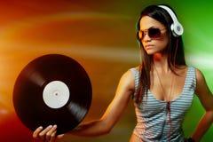 DJ portrait Stock Image