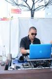 DJ Pro Style #3. DJ Pro Styles at the Sean Jean Block Party Pre-Awards Outdoor Jam Royalty Free Stock Photos
