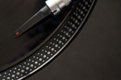 DJ Record Turntable Stock Photos
