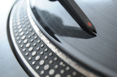 DJ Record Turntable Royalty Free Stock Image