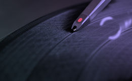 DJ Record Turntable Royalty Free Stock Photo
