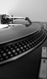 DJ Record Turntable Stock Images