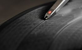 DJ Record Turntable Stock Image