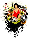 DJ red Stock Images