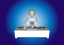 Dj robot Stock Photos