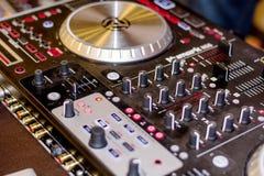 DJ's deck Stock Photos