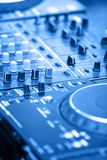 DJ's equipment Stock Images