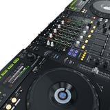 DJ set iluminujący Obrazy Stock