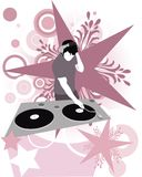 DJ Super Star Royalty Free Stock Photos
