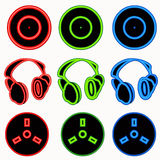Dj symbols Stock Photo