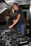 DJ Tiesto Στοκ εικόνες με δικαίωμα ελεύθερης χρήσης