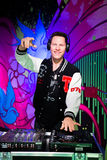 Dj Tiesto wax figure at Madame Tussauds San Francisco. Tiesto wax figure at Madame Tussaud, San Francisco Stock Photos