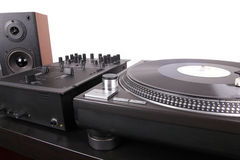 Dj tools Royalty Free Stock Image
