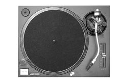 dj-turntable Royaltyfria Bilder