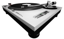 DJ Turntable 2 Stock Photo