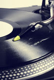 Dj turntable Royalty Free Stock Images