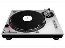 DJ Turntable 3 Royalty Free Stock Photos