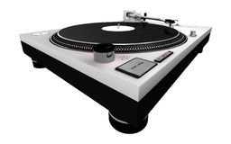 DJ Turntable 4 Stock Photo