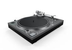 DJ Turntable Isolated Stock Photos