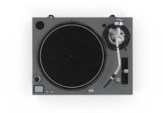 DJ Turntable Isolated Stock Photography