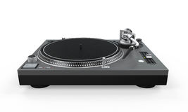 DJ Turntable Isolated Royalty Free Stock Photos