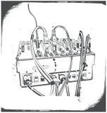 dj-utrustning Arkivbilder