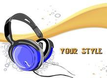 DJ vector Hintergrund Stockfotografie