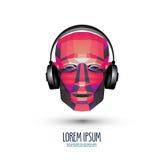 DJ vector Logodesignschablone Musik oder Stockbilder
