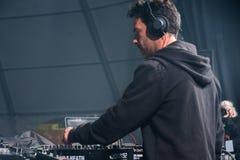 DJ-VIBE caparica Frühlings-Brandung Fest Lizenzfreie Stockbilder
