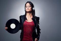 Free DJ Woman Royalty Free Stock Photography - 34196257