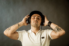 DJ at work Royalty Free Stock Image