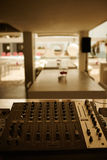 dj wyposażenia melanżeru muzyki s dźwięka styl Zdjęcia Stock