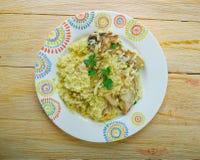 Djaj Fouq El-Eis. Chicken Dish From Oman Stock Photos