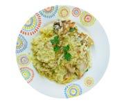 Djaj Fouq El-Eis. Chicken Dish From Oman Royalty Free Stock Photo
