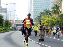 Djakarta - Oktober 27, 2013 Joseph Kiprono Kiptum K Stock Foto