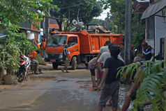 Djakarta trashes Stock Afbeeldingen