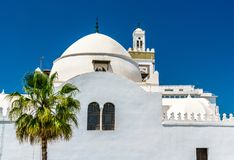 Djamaa al-Djedid mosque in Algiers, Algeria royalty free stock photography