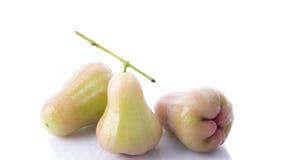 Djamboevruchten die op witte achtergrond worden geïsoleerde Royalty-vrije Stock Foto's