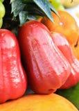 Djamboevruchten en sinaasappelen Royalty-vrije Stock Afbeeldingen
