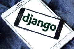 Django网框架商标 库存照片