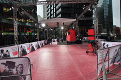 Django unchained red carpet premiere Royalty Free Stock Photography