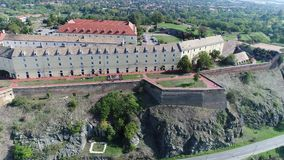 Djava Fortress. The fort was built between 1692 and 1780. because of the constant danger from the Turks and the vicinity of the border with the Ottoman Empire stock video footage