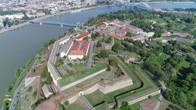 Djava Fortress 10 4K. The fort was built between 1692 and 1780. because of the constant danger from the Turks and the vicinity of the border with the Ottoman stock video footage