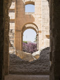 djem el amphitheatre стоковое фото