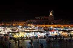 Djema El Fna Marrakesh Royaltyfri Foto