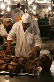 Djema el Fna at night Stock Photos